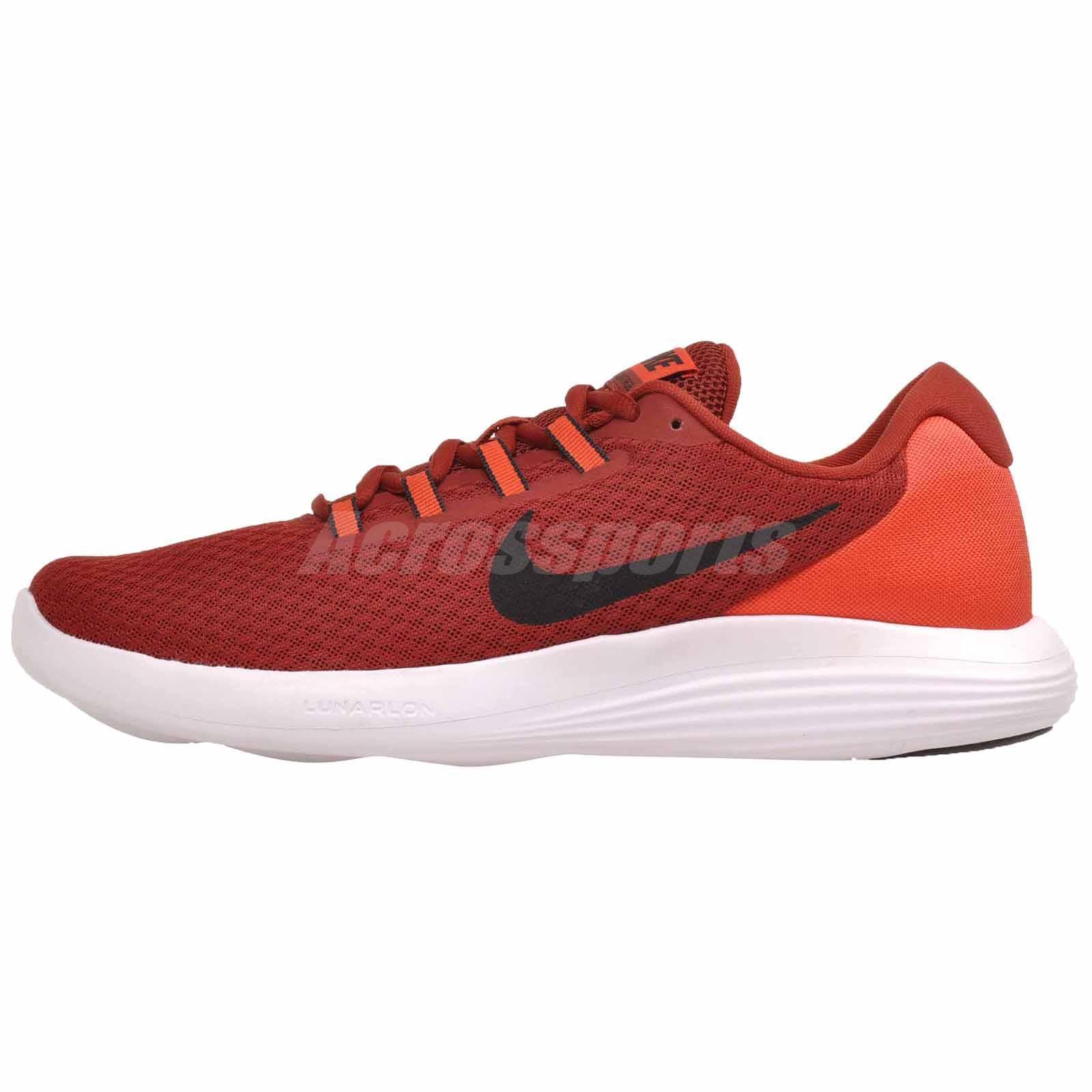 Nike Lunarconverge Running Mens shoes Red orange 852462-600