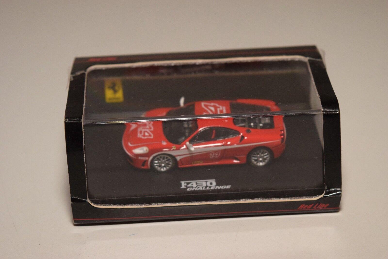 V  87 rotline - modelle 87rl007 ferrari f430 f 430 stellen rote mib selten