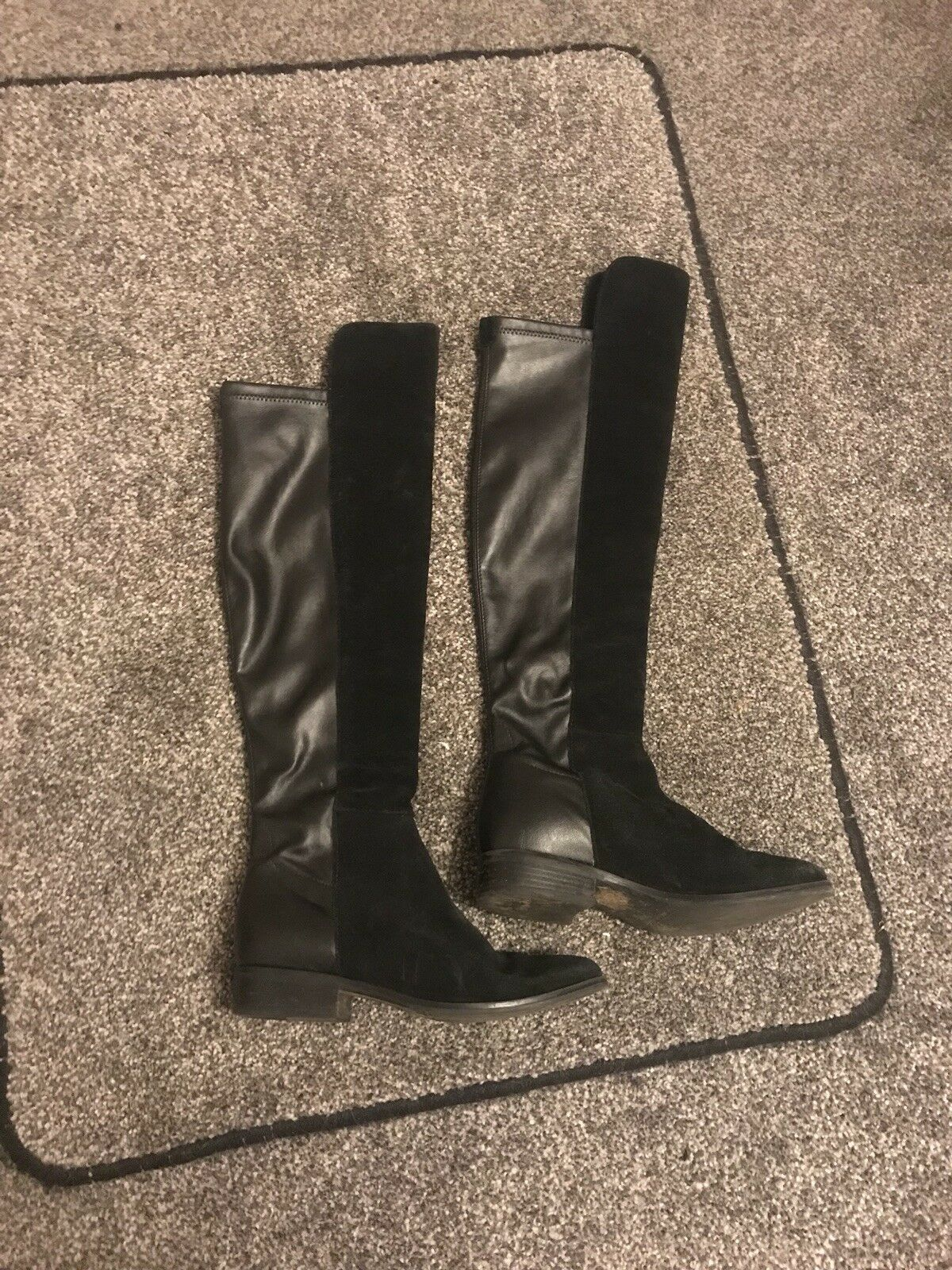 Womens Dune Over The Knee Boots Size 4