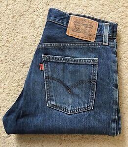 Blue L Indigo Straight Levis Mens Leg W Denim 02 618 31 Jeans wqFISySAP