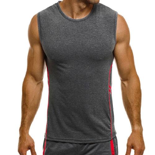 Herren Tanktop T-Shirt Muskelshirt Sport Fitness Sommer Ärmellos Weste Tank Tops