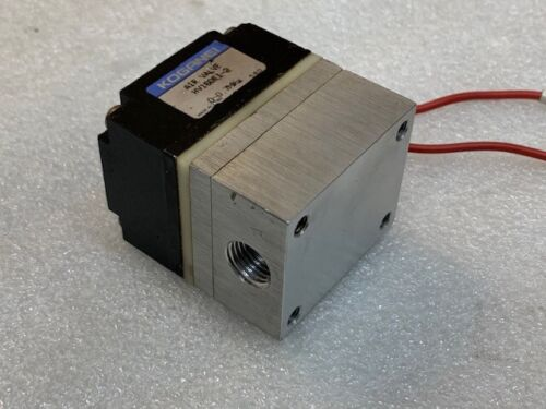 Details about  /Koganei HV160E1-2 Direct Acting Square Type Air Valve DC24V Used Good Condition