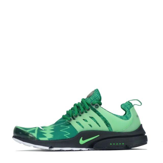cuchara protesta Tibio  Nike Air Presto Ultra Breathe Shoes Trainers Green 898020 200 9 for sale |  eBay