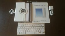 FLAWLESS!!! -Apple iPad 4th Gen 32GB Wi-Fi + 4G Unlocked-W/ EXTRA ACCESSORIES!