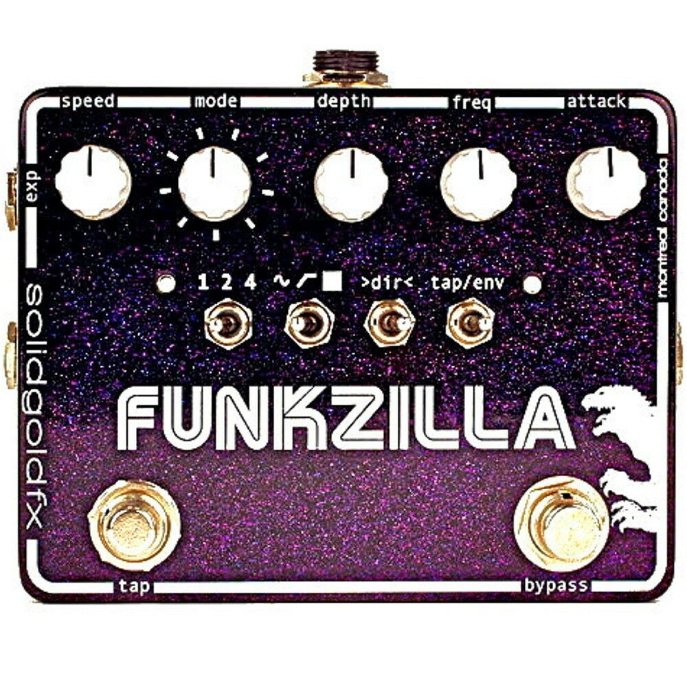 SolidGoldFX Funkzilla Envelope Filter Guitar or Bass Effect Pedal w  Tap Tempo