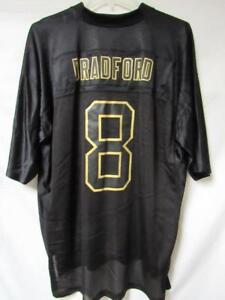 Rams Mens Size X-Large Sam Bradford  8 Reebok Jersey Black A1 1272 ... 765af6ca7