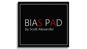BIAS PAD by Scott Alexander available for shipping 5-6-19