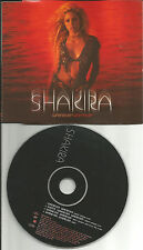 SHAKIRA Whenever Wherever w/ RARE MIX & VIDEO Europe CD single USA seller 2002