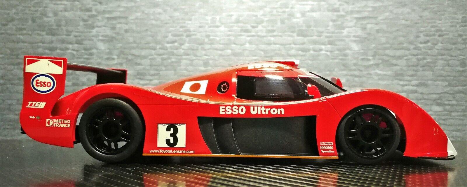 Jugueteota GT-One ts020 nº 3 LM Kyosho mini-z body para RWD mr03 (W-LM) + caja de presentación
