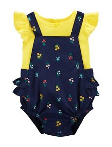 Carters Floral Ruffled 2-Piece Tankini Swimsuit Set