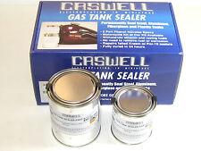 Caswell Gas Tank Sealer repair kit motorcycles 10 gallon steel fiberglass w cans