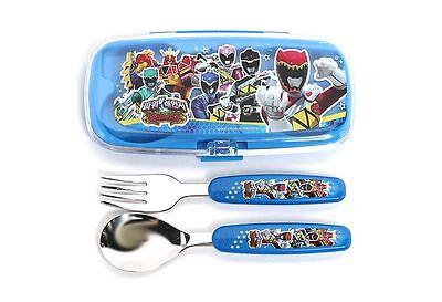 Power Rangers Dino Force Spoon Fork Case Set Kids Children Child Boys School