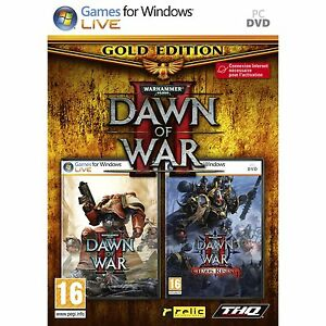 DAWN-OF-WAR-2-GOLD-CHAOS-RISING-PC-NEUF-EN-FRANCAIS-NEUF