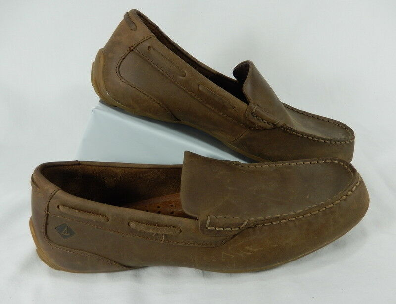 Mens 8.5 Sperry Top-Sider Navigator Venetian Loafers Driver Boat shoes