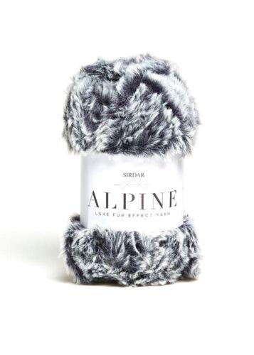 Sirdar Alpine Luxe Fur Effect Knitting Yarn Knit Craft 50g Ball