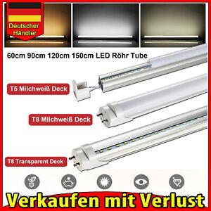 30X 20W 120cm T5 LED Tube Röhre Leuchtstoffröhre Rohr Deckenleuchte Kaltweiß