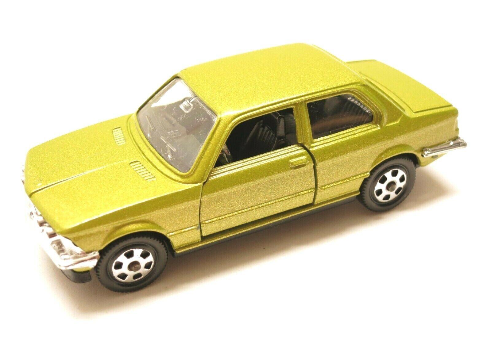 Vintage - BMW 320 - 1 43 Mebetoys Mattell A-103 Rare Lime Farbe