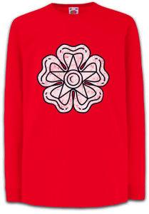 Jacobite-Flag-Kinder-Langarm-T-Shirt-Schottland-Jakobitenaufstand-Jakobiten-Flag