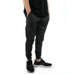 Training-Joggers-Pants-Mens-Size-S-M-L-XL-by-Onthec-Track-Fitness-Gray-Gym