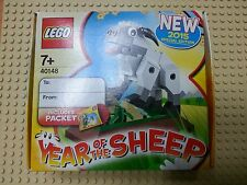Lego 40148 Year of The Sheep New2015 Special Edition