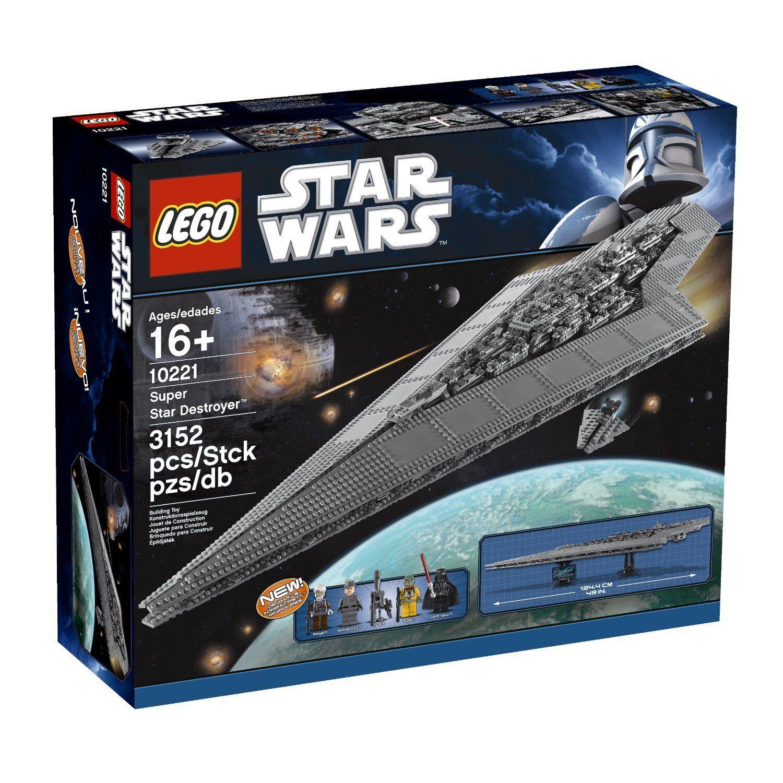 LEGO Star Wars Super Star  Destroyer (10221) nouveau Sealed Box Libre Shipping  service de première classe