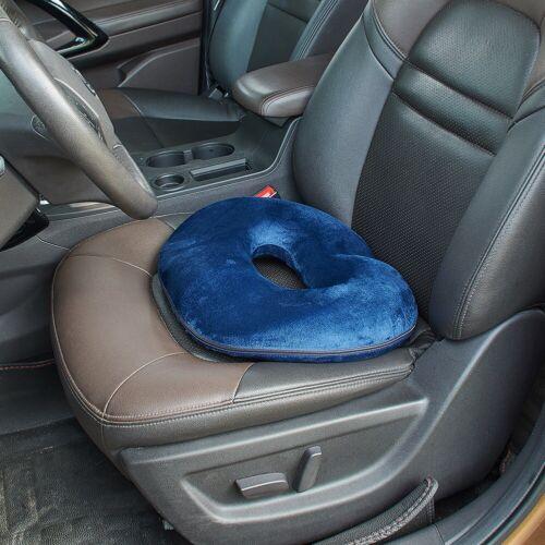 Memory Foam Ring Doughnut Seat Chair Piles Haemorrhoids Pregnancy Cushion Pillow