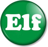 "Elf 25mm 1"" Pin Button Badge Christmas Gift Xmas Cute Fun Santa's Grotto Helper"