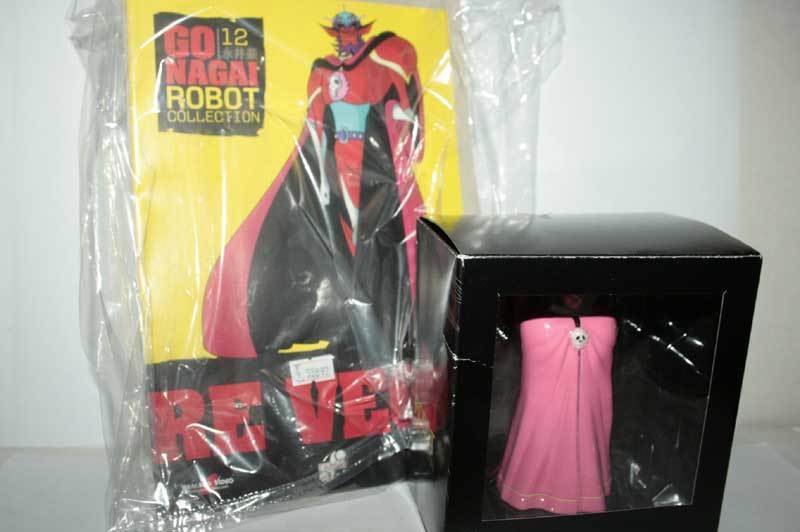 GO NAGAI ROBOT COLLECTION USCITA USCITA USCITA n. 12 RE VEGA FIGURE NUOVA ITA GM4 55892 89be1f
