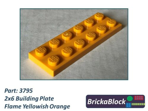 NEW /& GENUINE Lego Part 3795 2x6 Plate Choose 1,2,4,6,8 or 10