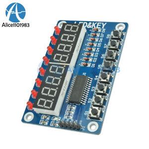 8-Bit-LED-8-Bit-Digital-Tube-8-KeyS-TM1638-Display-module-for-AVR-Arduino-ARM