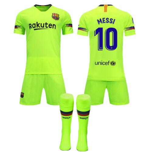 61d894c7f60 1 of 5 HOT UK 18 19 Football Jersey Soccer Kits Short Shirt 3-14Years Kid  Boys