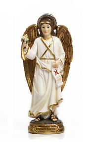 Statua-Arcangelo-Gabriele-cm-29-8-in-resina-by-Paben
