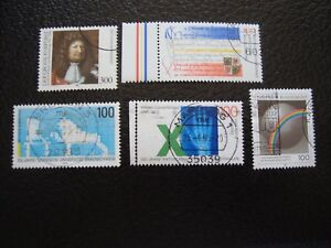 Germany-Rfa-Stamp-Yvert-and-Tellier-N-1613-A-1617-Obl-A5-Stamp-Germany