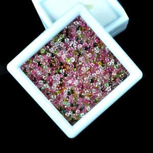 3-MM-100-Pieces-Round-Cut-Natural-Multi-Color-Tourmaline-Wholesale-Lot-Gemstones