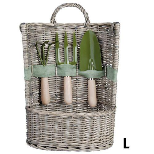 Korb mit Gartengeräte inkl.3 Geräte EL045 ** Esschert Gartengerätekorb