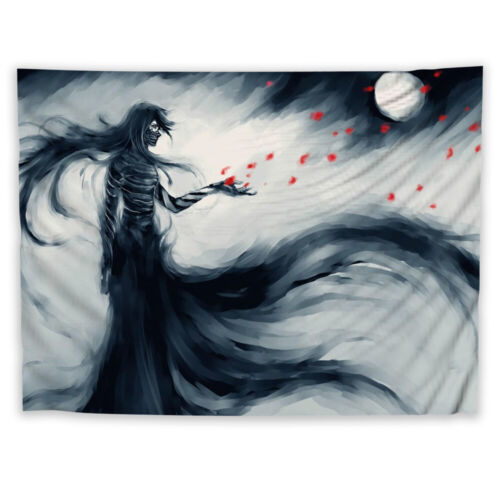 Bleach Anime Tapestry Art Wall Hanging Sofa Table Bed Cover Home Decor