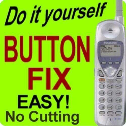 100% Panasonic Cordless Phone Keypad Button Fix KX-TGA270s TG2740 TG2700S