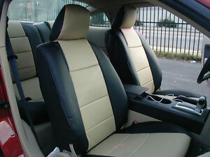 FORD-MUSTANG-2005-2014-IGGEE-S-LEATHER-CUSTOM-FIT-SEAT-COVER-13COLORS-AVAILABLE