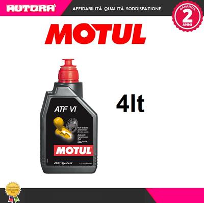 105774 4lt Olio Trasmissione Motul Atf Vi 100% Sintetico (marca-motul)