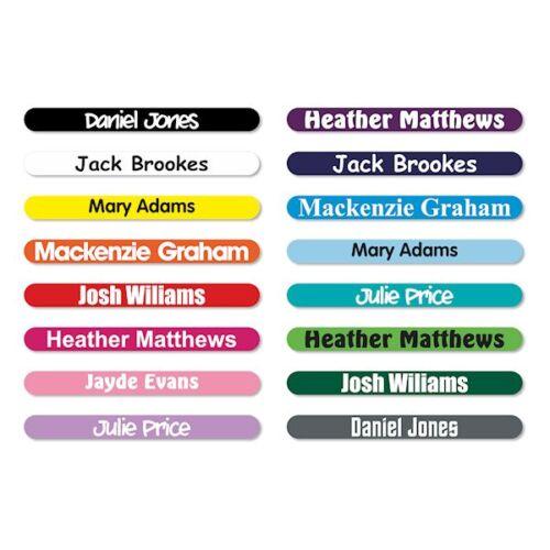 50 x personnalisé stick crayon nom étiquettes balises imperméable pour école//kids