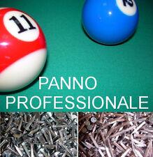 KIT PANNO GIOCO X TAVOLO BILIARDO DA POOL - M.160 X 280 + PANNO SPONDE