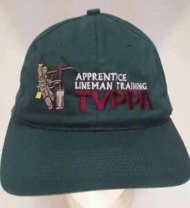 Image is loading TVPPA-Apprentice-Lineman-Training-Embroidered-Snapback-Hat- Cap- 11c24ade353