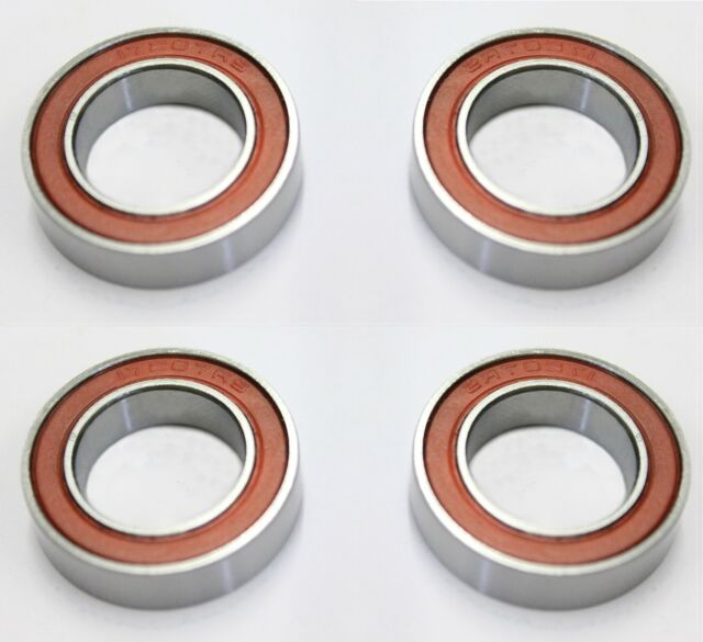 4 Stück 17287RS / 17287 2RS Kugellager 17x28x7 mm Industrielager MR17287 2RS