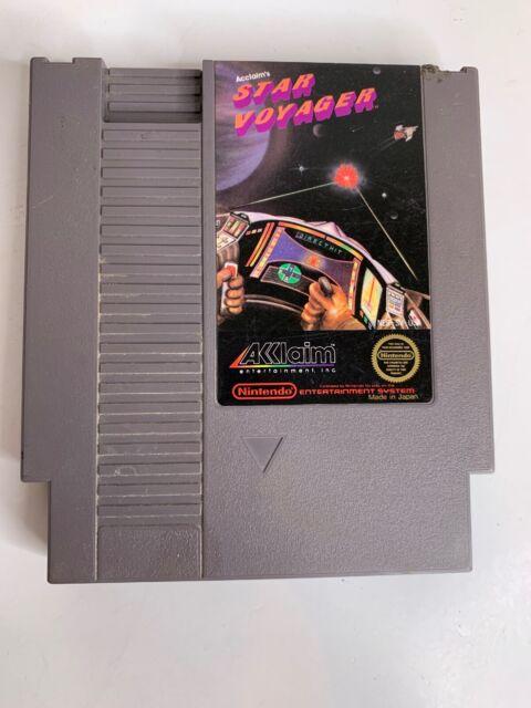 Star Voyager (Nintendo Entertainment System, 1987) NES Game