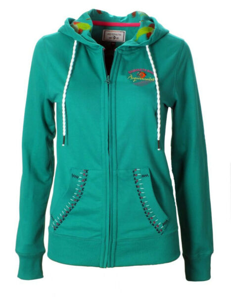 ARQUEONAUTAS Damen Sweatjacke, Kapuzenjacke, regular fit