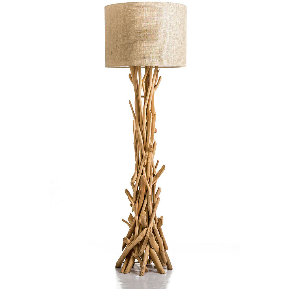 Nautical Driftwood Branch Floor Lamp