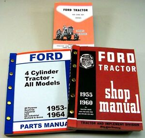 lot ford    tractor owner operator parts service