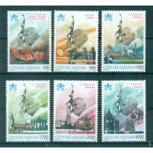 Vatican-1997-Mi-n-1227-1232-034-Viaggi-del-Papa-034-Jean-Paul-II