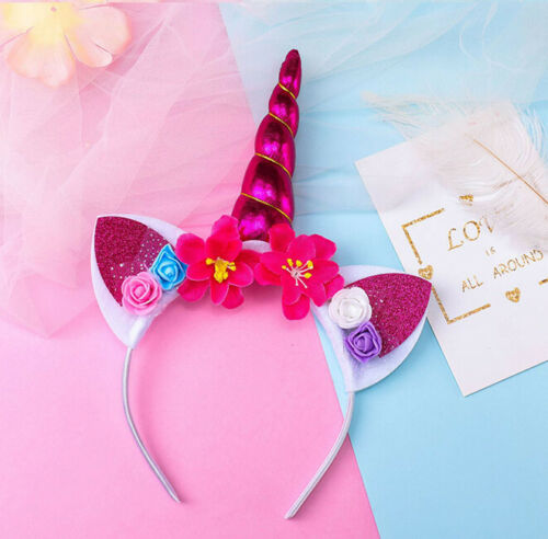 Girls Cute Unicorn Headband Children Headwear Party Hair Hoop Hair Accessories