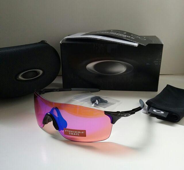 d6171baaecd New OAKLEY EVZERO PITCH Polished Black   PRIZM TRAIL Sunglasses range path  zero
